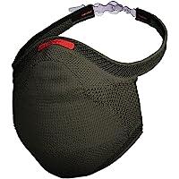 Máscara Esportiva Fiber Knit - Tamanho M, Verde Militar