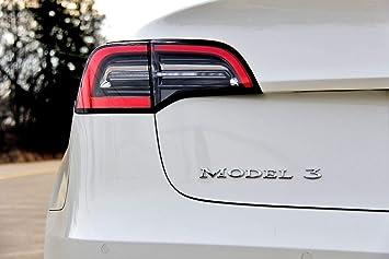 TeslaShop 'Model 3' Emblem Badge - 3D OEM Quality - for Tesla Model 3  (Chome)