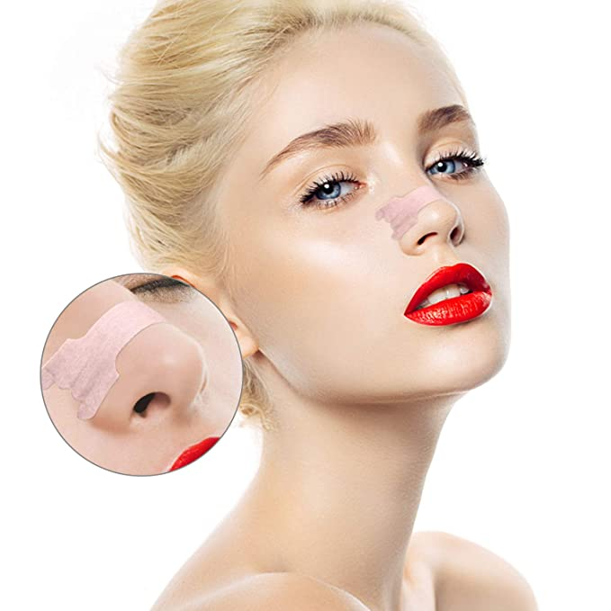 Tiras nasales antironquidos, tiritas nasales detener nariz ronquidos congestión, respirar mejor y dormir, deportivas alergia (L-100): Amazon.es: Salud y ...