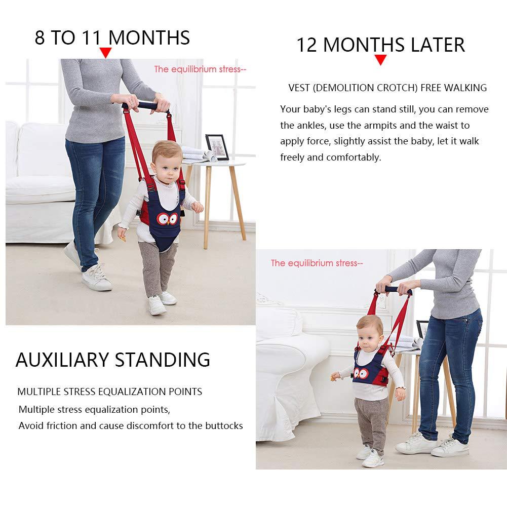 Happy Cherry Kinder Lauflernhilfe Sicherheit Kabelbaum Kleinkind Fu/ß Assistent Lernen Spaziergang Gurt