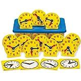 ETA hand2mind Geared Mini-Clocks Classroom Basics Kit