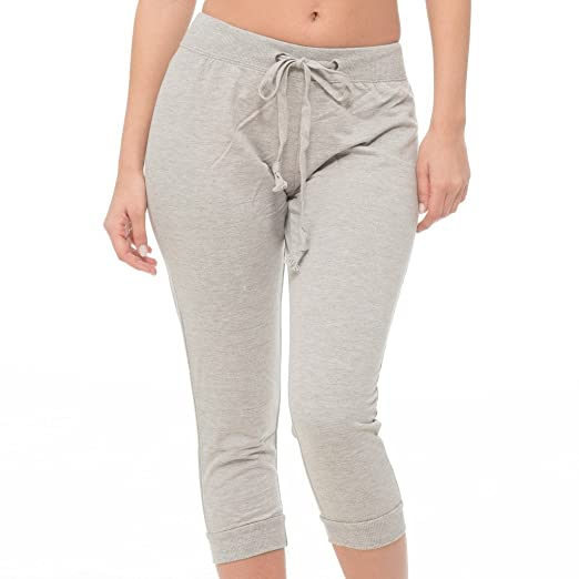 hot-selling authentic 100% quality official supplier Coco-Limon Jogger Pants Women - French Terry Capri Cropped ...