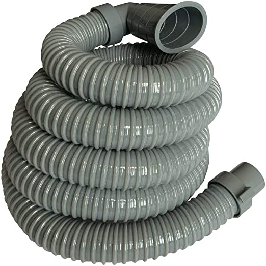 8ft Heavy-Duty Washing Machine Drain Hose with a Clamp