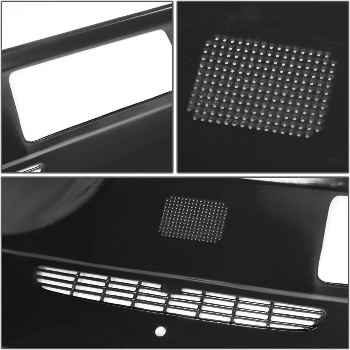 DNA MOTORING Grey ZTL-Y-0078-GY ABS Dash Board Cover Cap Replacement