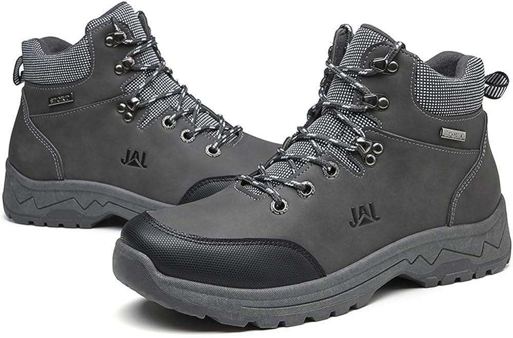Brfash Scarpe da Trekking Uomo Arrampicata Scarponcini da Escursionismo Sportive Allaperto Impermeabili Scarponi da Montagna Sneakers da Uomo