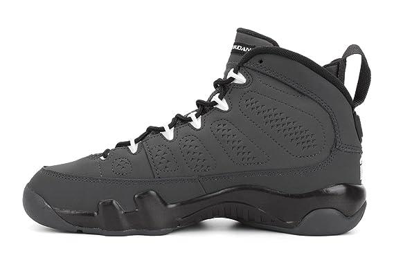 buy popular 59bb6 479a4 Amazon.com  Air Jordan 9 Retro Big Kids Style  302359-013 Size  5   Clothing