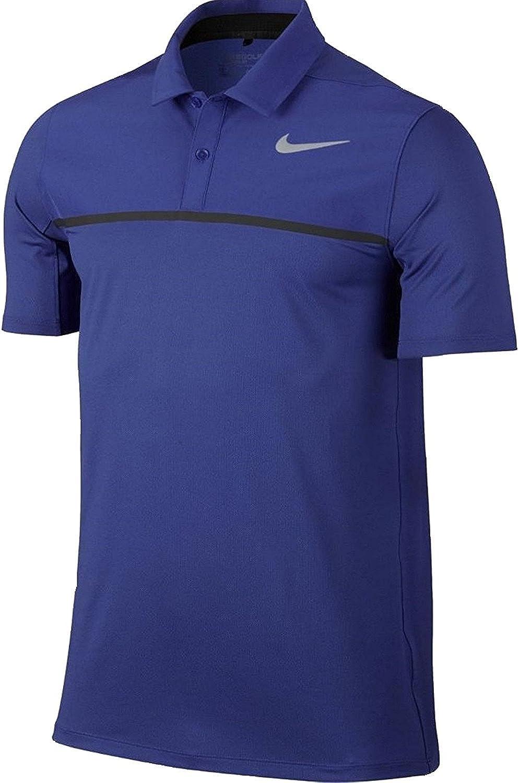 Nike Icon color block polo polo pour homme - Bleu - Bleu roi/argent réfléchissant, XL EU