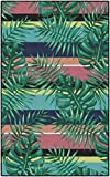 Brumlow Mills LW10103-40×60 Malibu Stripes Tropical Area Rug, 3'4″ X 5′ Review