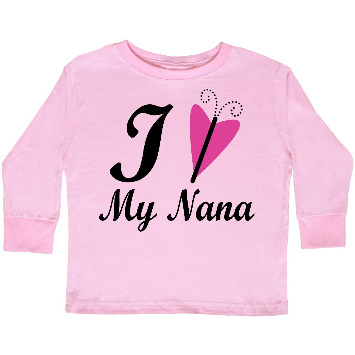 inktastic I Love My Nana Girls Toddler Long Sleeve T-Shirt
