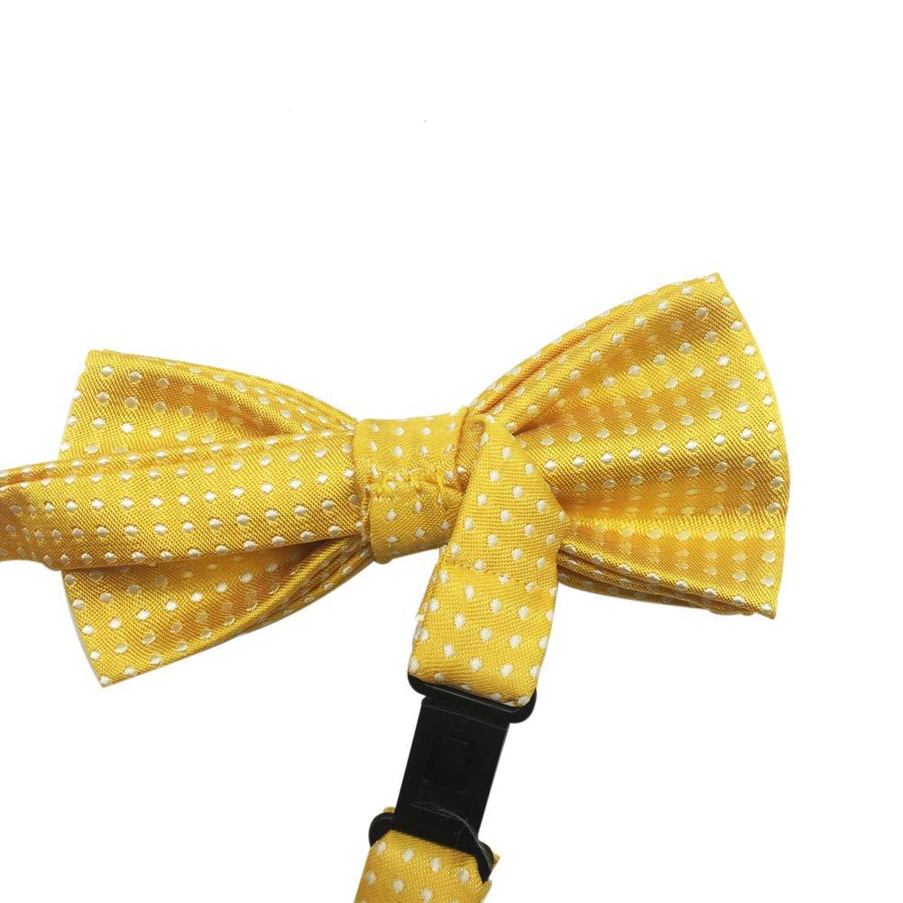 Boys Girls Children Kids Polka Dots Satin Bow Ties//Bowties Various Colors