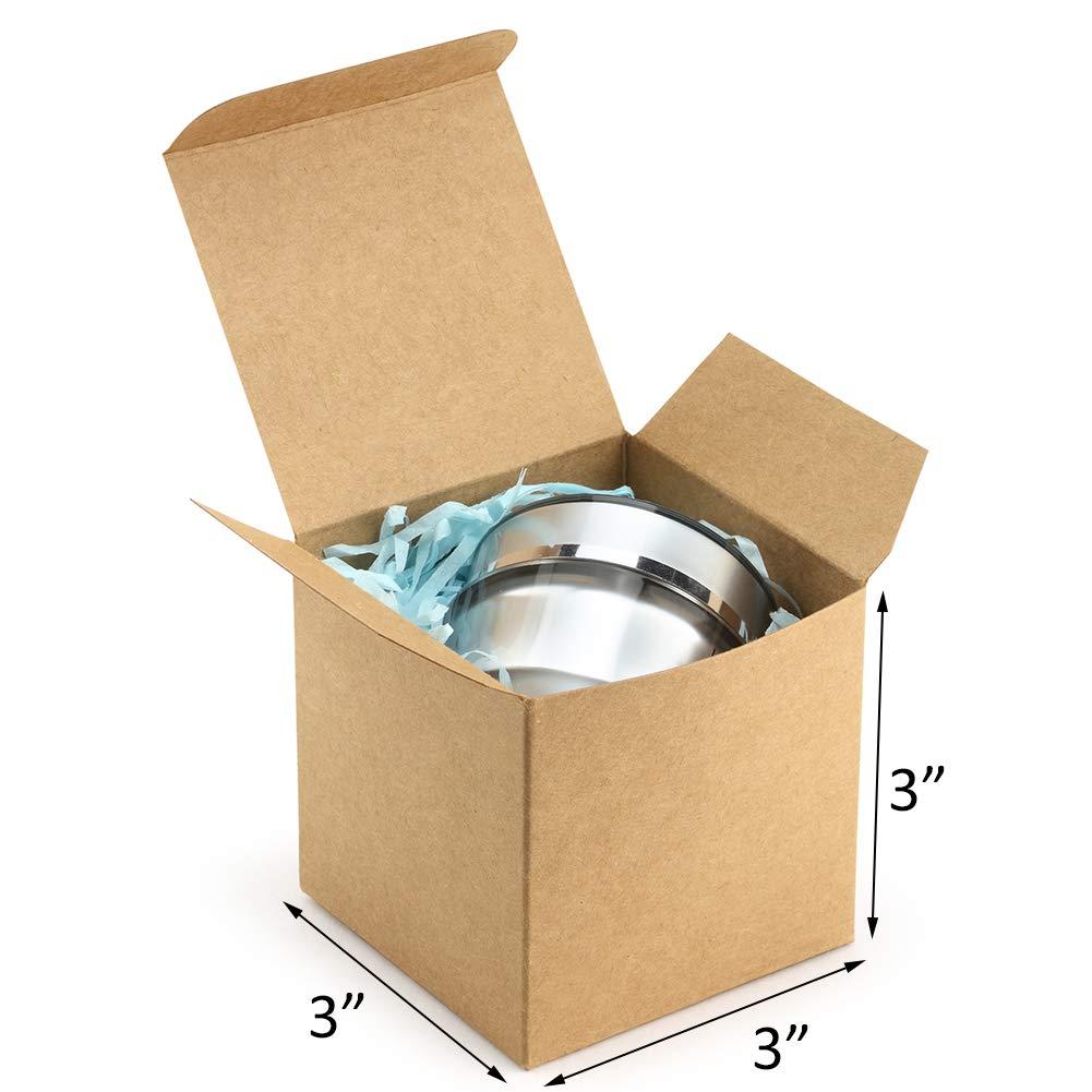 Amazon.com: ValBox - Cajas de papel reciclado con tapas para ...