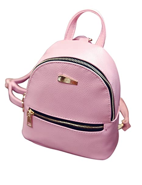 9a73925a95 Bingirl New Style Women's Leather Backpack Children Backpacks Mini Backpack  Women Back Pack Backpacks for Teenage Girls: Amazon.ca: Luggage & Bags