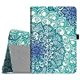 Fintie Asus ZenPad 3S 10 Z500M / ZenPad Z10 ZT500KL Case - [Slim Fit] Premium PU Leather Folio Stand Cover with Auto Sleep / Wake for ZenPad 3S 10 / Verizon Z10 9.7-Inch Tablet, Emerald Illusions
