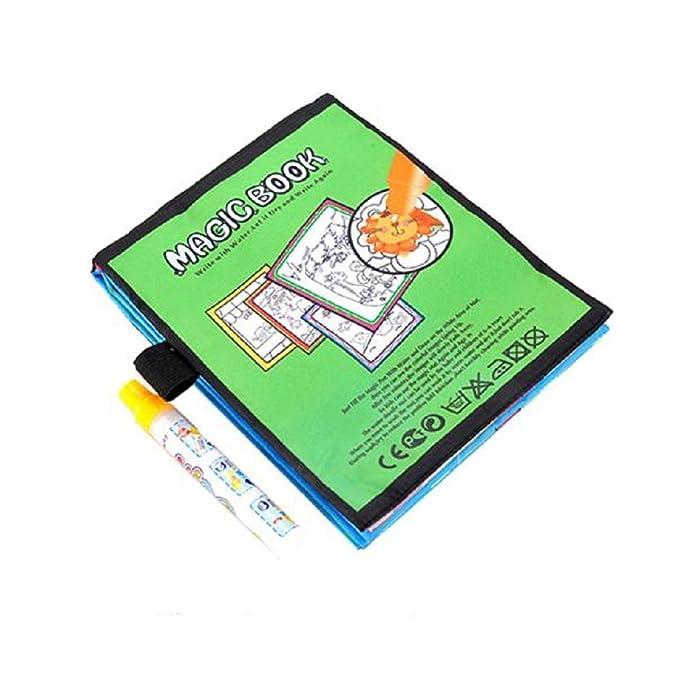 Magia Agua Dibujo Libro para Colorear Doodle Magic Pen Animales Pintura by Venmo
