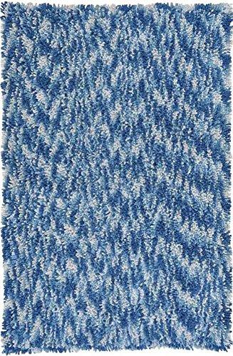 Shagadelic Chenille Collection Twist Swirl Rug 4' X 6' or 30