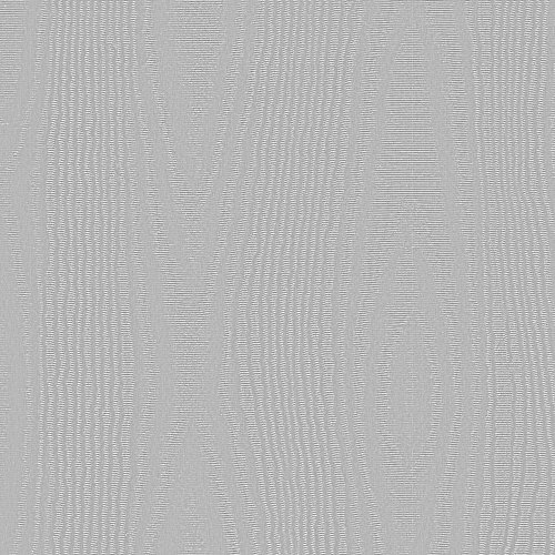 """Silver Moire Embossed Foil Gift Wrap, 24"""" x 417"""