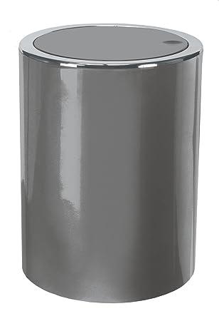 Amazoncom KW Clappe 5Ltr Plastic Swing Bathroom Bin Kitchen Bin