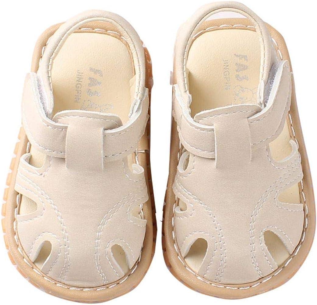 Miyanuby Sandalias 30 Meses Niño Bebe 0 Suave Verano Zapatos Niños Antideslizante Para Suela Primeros OTZkuPXi