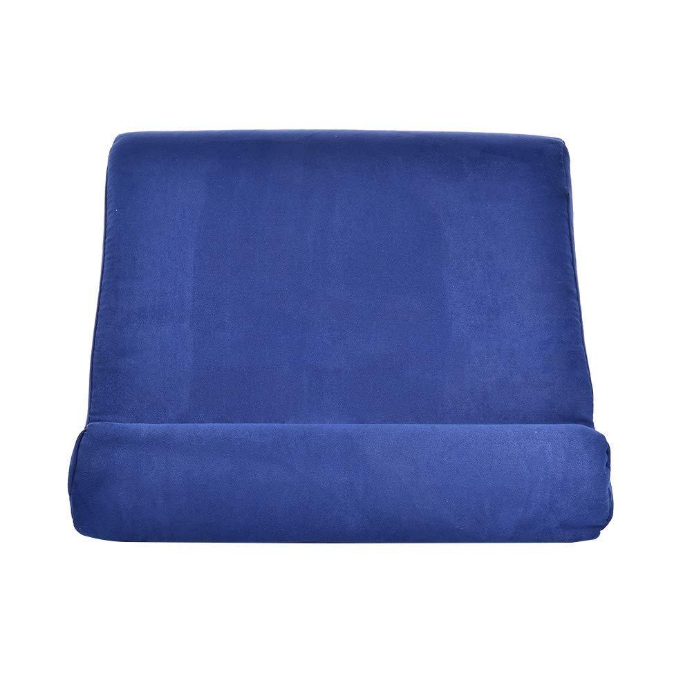 FuLanDe Pad Pillow Stand,Pad Pillow,Cuscino Supporto per Tablet Supporto per Portatile Morbido Multi-Angolo Multifunzione Pieghevole Triangolare Cuscino Supporto