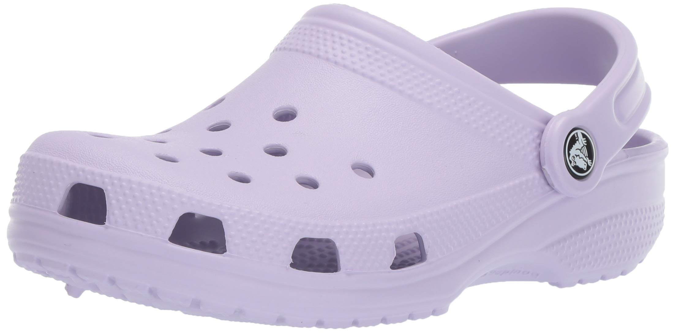6d52148d95722 Crocs Men's and Women's Classic Clog, Comfort Slip On Casual Water Shoe,  Lightweight, Lavender, 11 US Women / 9 US Men
