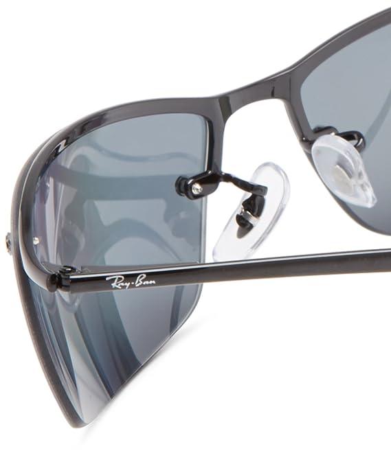 2e1595c6a4 Ray-Ban 3183 Matte Black Sunglasses  Amazon.co.uk  Clothing