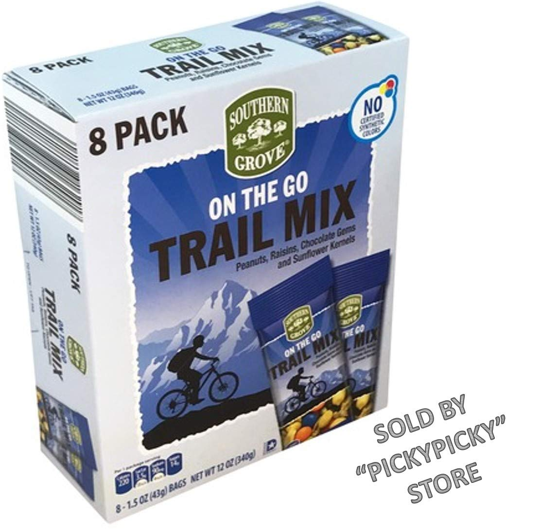 On the Go Trail Mix 8 Pack Each 1 5oz
