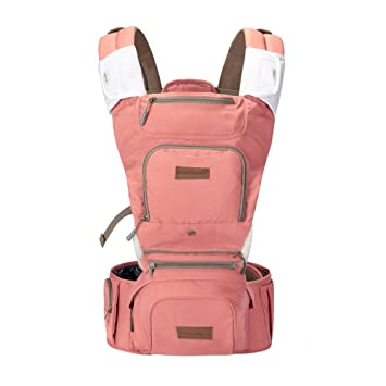 aa55faf22 Mother Nest Ergonomic Baby Carrier 360 All Carrying Positions for ...