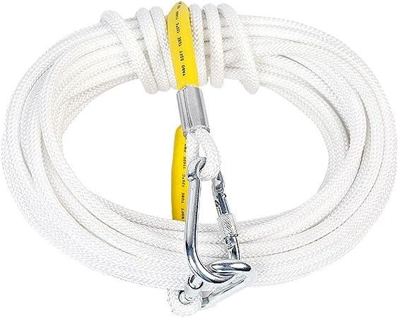 LYM-Rope Cuerda Escalada, 10, 15, 20 Metros, Cuerda Rescate ...