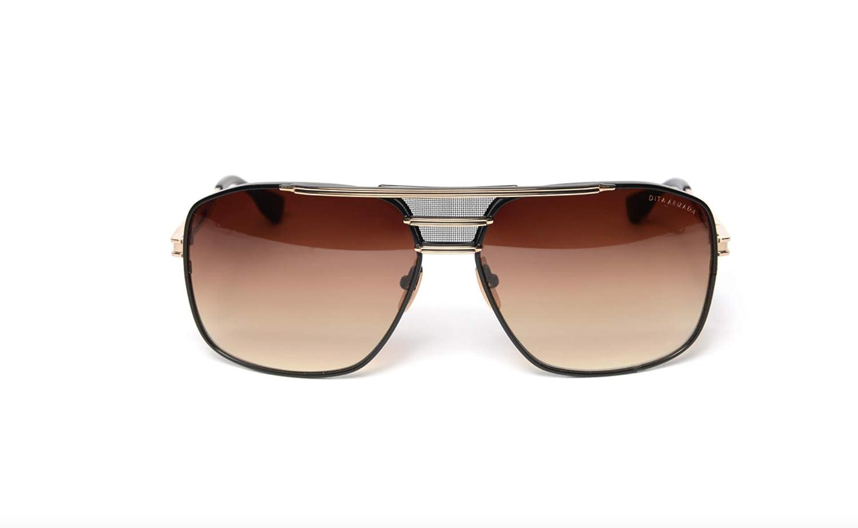 2db2f860c83d Dita Armada DRX-2045-B-GLD-BLK-62 Sunglasses 18K Gold - Matte Black 62mm   Amazon.ca  Clothing   Accessories