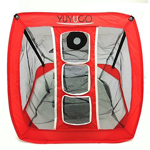 YUYUGO Golf Chipping Net Collapsible Trainning ...