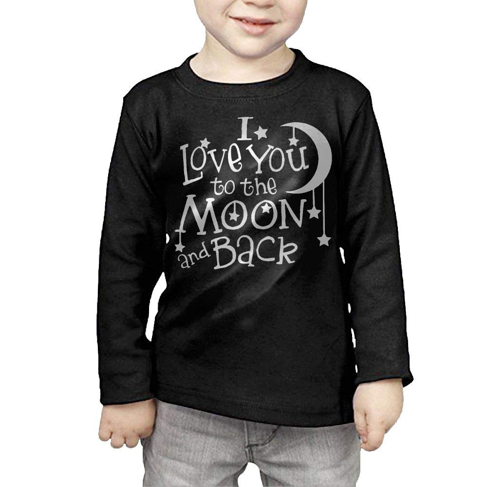 Newborn Kids I Love You to The Moon and Back Printed Long Sleeve 100/% Cotton Infants Clothes