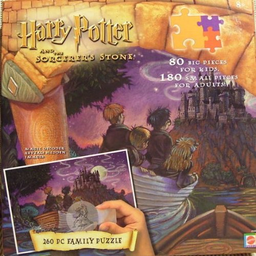 (Harry Potter 260 Piece Puzzle with Magic Decoder)