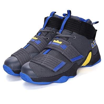 Amazon.com  Mrh.Dar Plus Size 36-45 Basketball Shoes for Men Women Autumn  2018 White Gold High top Sport Shoes Basket Homme  Shoes b457c58e83