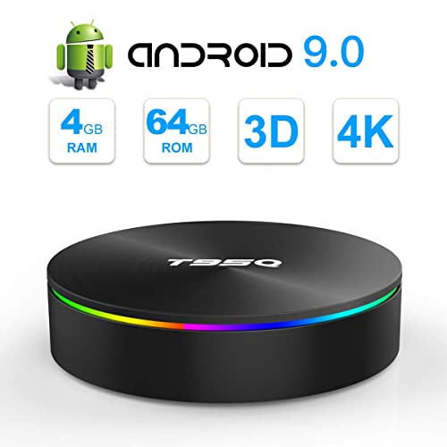 SIDIWEN T95Q Android 9 0 TV Box con 4GB RAM 64GB ROM Amlogic S905X2 Bluetooth4 1 2 4 5 0G WiFi Quad Core 64 bits H 265 3D UHD 4K Smart Internet TV Box