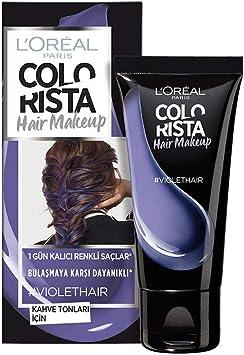 L Oreal Paris colorista número 16 Hair Make Up, 30 ml, violeta