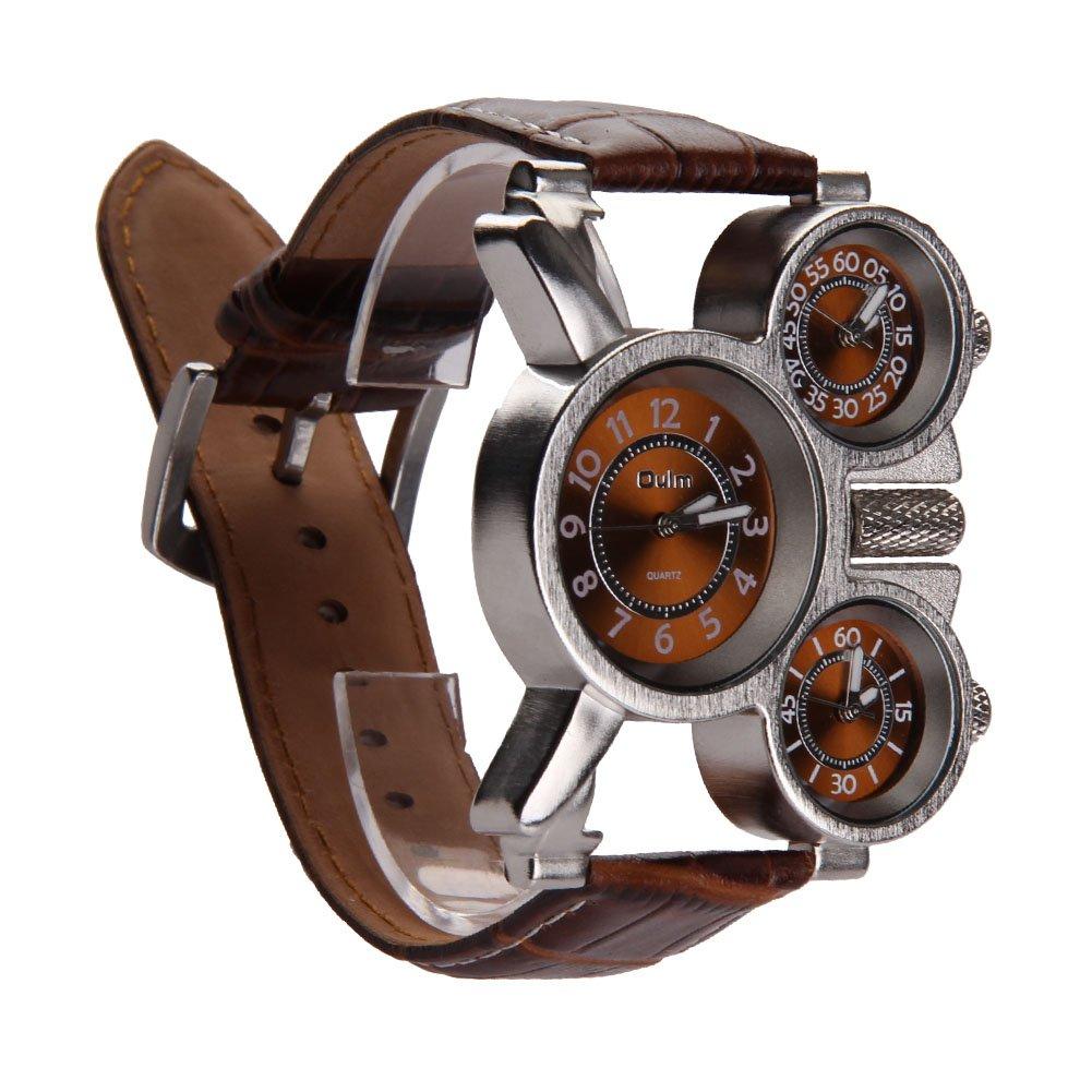 Chinatere ES03 Hombres Negocio Retro Moda Cuarzo Relojes de pulsera