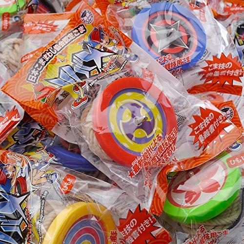 日本こままわし協会認定こま 24個セット(6色各4個アソート) B0787SDJX3 24個セット(6色各4個アソート)