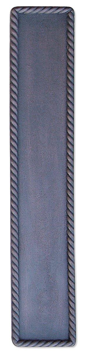 Hawk Hill Hardware L24BL Twist Back Plate, 24, Flat Black