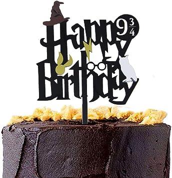 Amazon.com: CaJaCa Harry Potter - Decoración para tartas de ...