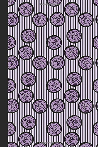 Journal: French Swirl (Lavender) 6x9 - LINED JOURNAL - Journal with lined pages - (Diary, Notebook) (Spirals & Swirls Lined Journal Series)