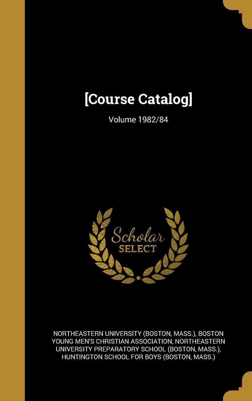Download [Course Catalog]; Volume 1982/84 ebook