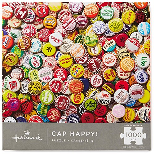 Hallmark Cap Happy! 1000-Piece Puzzle Puzzles & Games Food & Drink