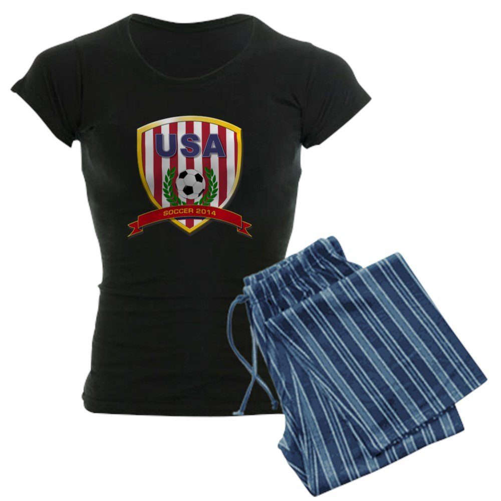 CafePress - USA Soccer Pajamas - Womens Pajama Set