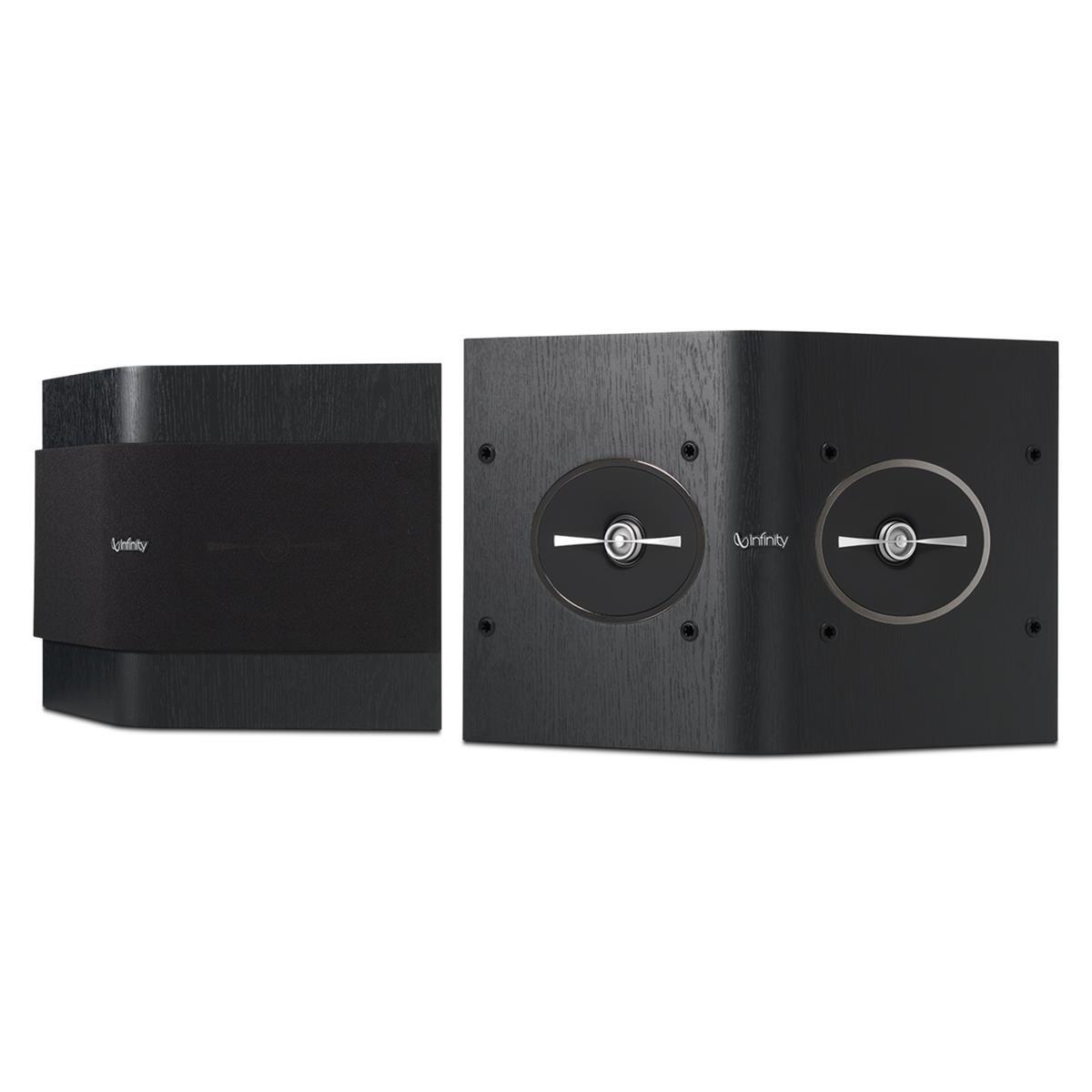 """Infinity RS152 Reference Series 2-Way 5-1/4"""" Dual Tweeter Surround Speakers - Pair (Black)"""