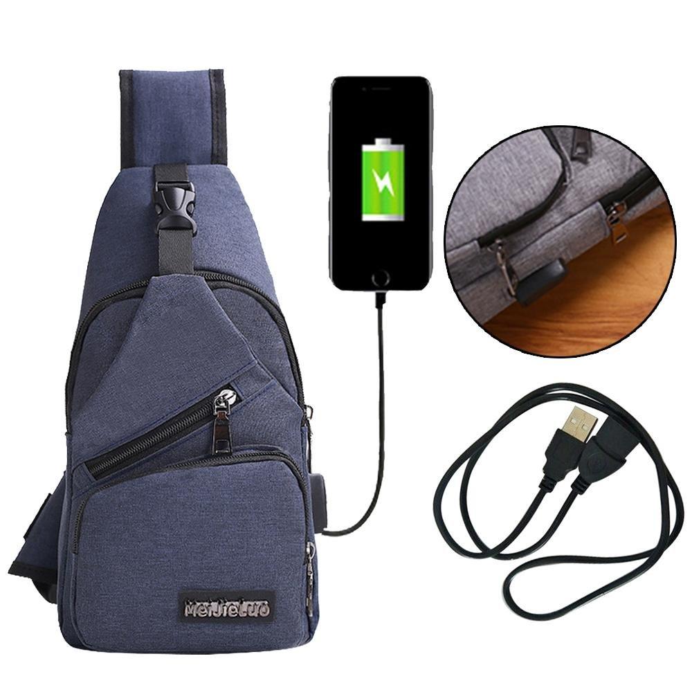Unisex Brusttasche Outdoor Sling Crossbag Bodybag Umhängetasche Reise Sport Bags