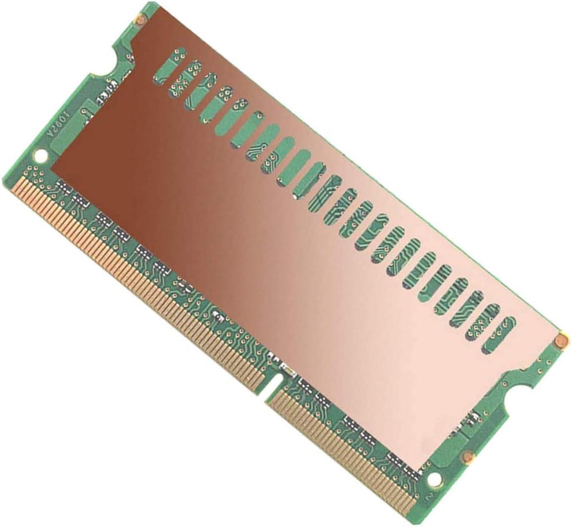 DGZZI Copper Heat Sink Cooler Heat Spreader Heatsink for Cooling Laptop Memory RAM