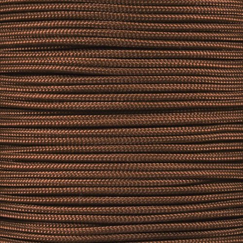 West Coast Paracord 3 Strand Nylon Certified Type II 325 Paracord (Chcolate Brown, 100 Feet)