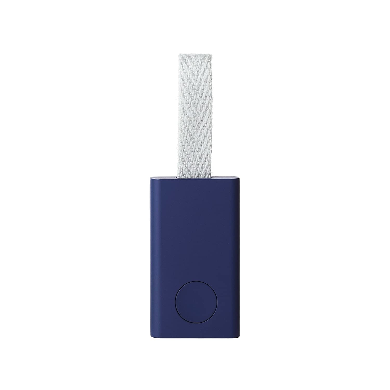 Qrio Smart Tag(キュリオスマートタグ) ベビーピンク 探し物発見機 忘れ物防止 スマホも探せる キーファインダー スマホカメラのシャッター機能付き  Q-ST1