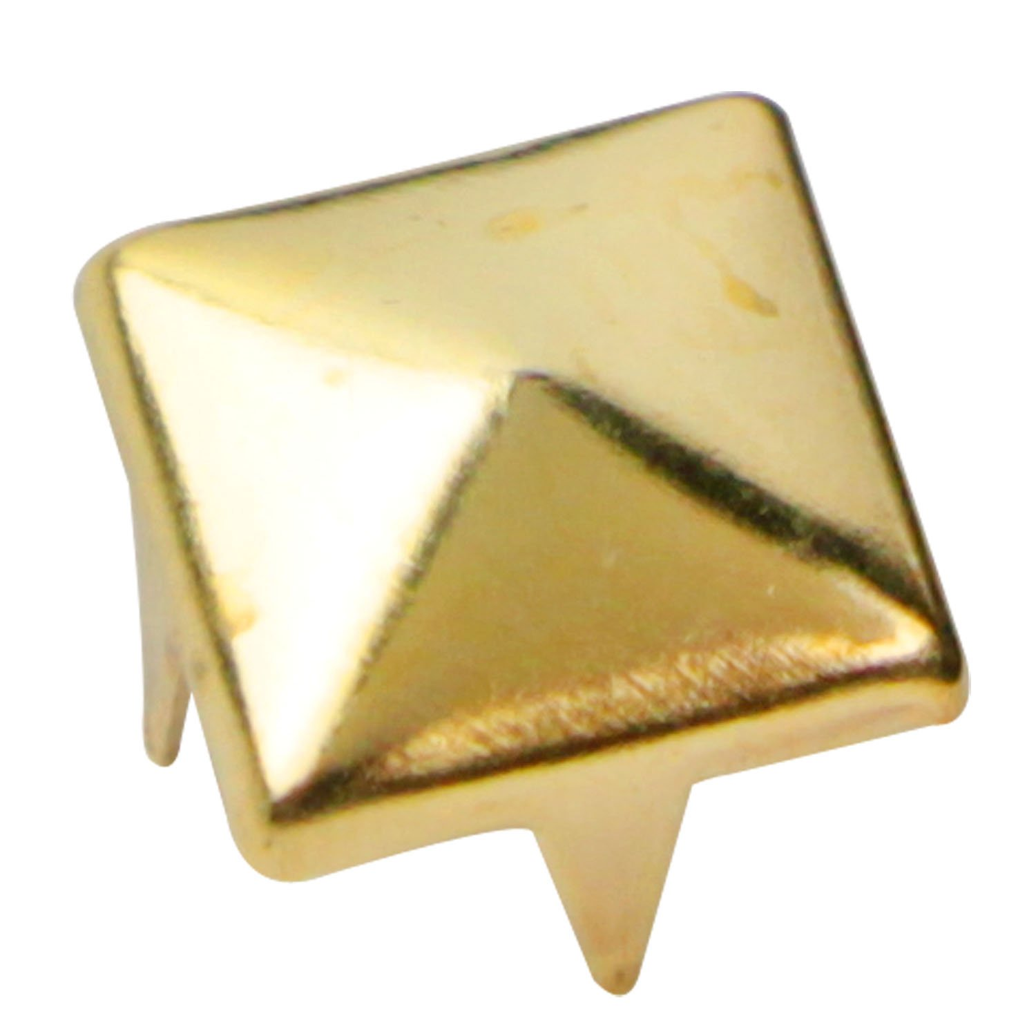 out stud earrings bling pyramid niv iced s img gold products