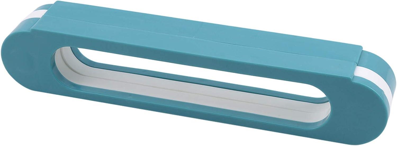 하나의 신발 선반 욕실 슬리퍼 랙 벽에 달링 세 펀치 무료 욕실 접이식 슬리퍼 랙 블루